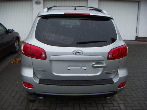 Hyundai Santa Fe Au&szlig;enansicht nach Einbau einer LPG-Autogas Anlage